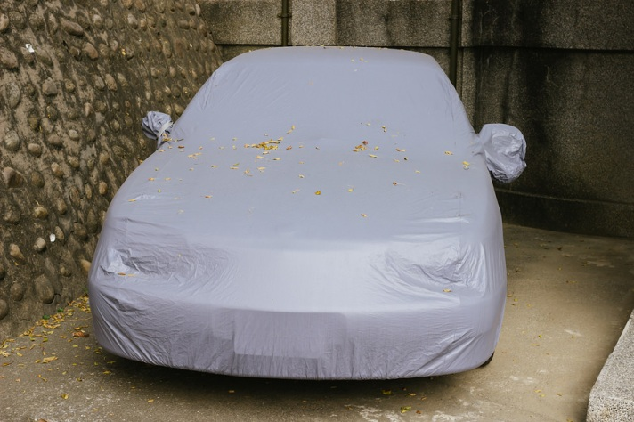 Covered Car